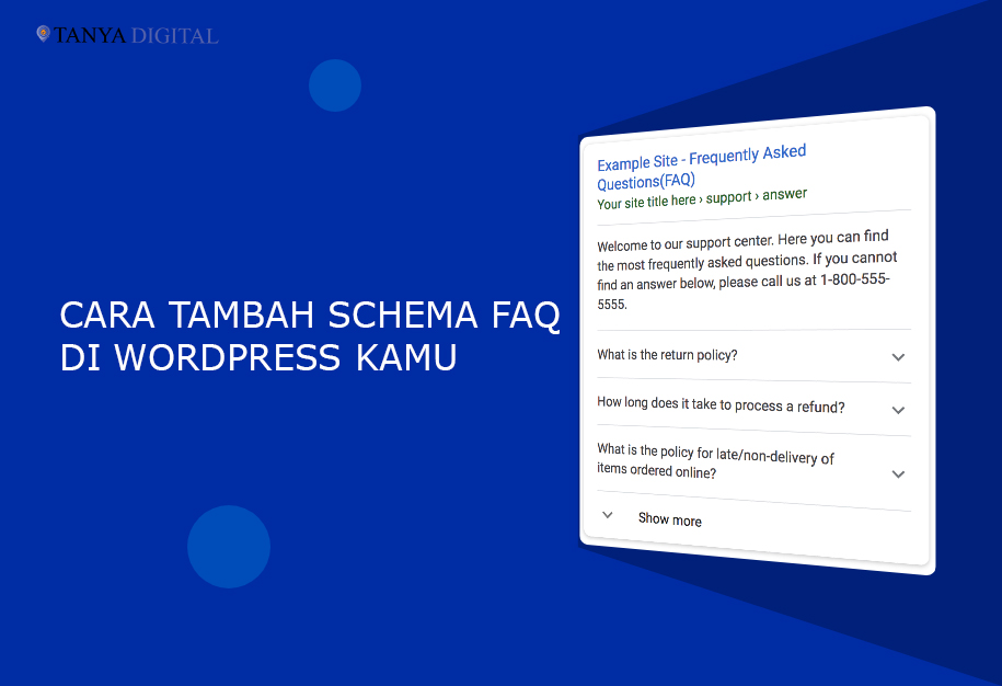 Cara Tambah Schema FAQ di Wordpress